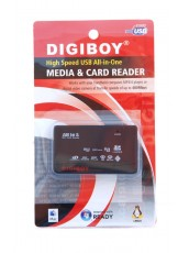 DIGIBOY HI-speed USB All In One media and card reader